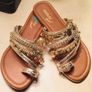 🚫SOLD🚫Golden Coin Sandals